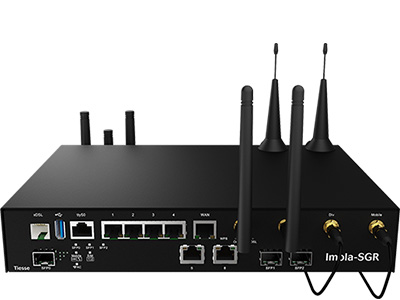 Vista frontale del router Imola 5272-SGR-IK2W